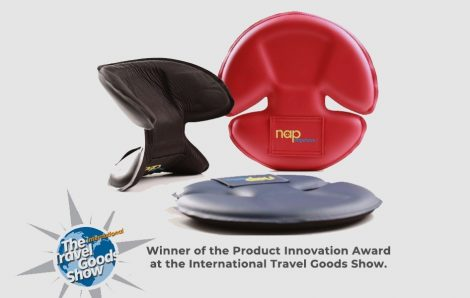 Winner of Product Innovation Award at the International Travel Goods Show